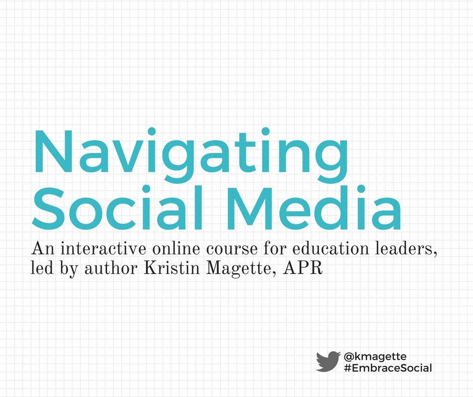 Navigating Social Media course information